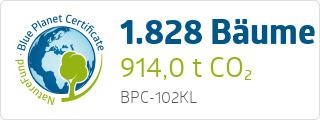 Blue Planet Certificate BPC102KL