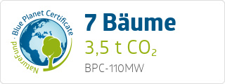 Blue Planet Certificate BPC110MW