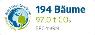 Blue Planet Certificate BPC119RM