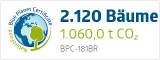 Blue Planet Certificate BPC181BR