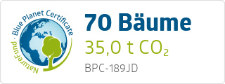 Blue Planet Certificate BPC189JD