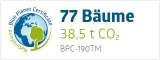 Blue Planet Certificate BPC190TM