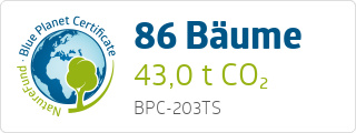 Blue Planet Certificate BPC203TS