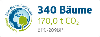 Blue Planet Certificate BPC209BP