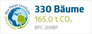 Blue Planet Certificate BPC209BP
