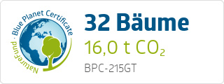 Blue Planet Certificate BPC215GT