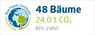 Blue Planet Certificate BPC218NS