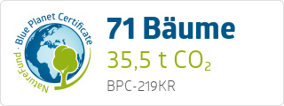 Blue Planet Certificate BPC219KR