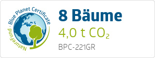 Blue Planet Certificate BPC221GR