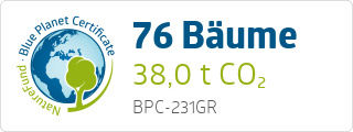 Blue Planet Certificate BPC231GR