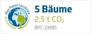 Blue Planet Certificate BPC235BS