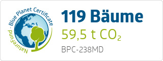 Blue Planet Certificate BPC238MD