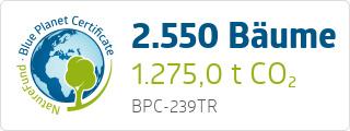 Blue Planet Certificate BPC239TR
