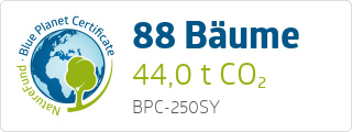 Blue Planet Certificate BPC250SY