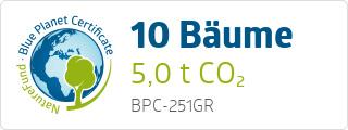 Blue Planet Certificate BPC251GR
