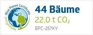 Blue Planet Certificate BPC257KY